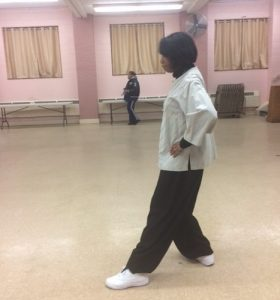Tai Chi back stance