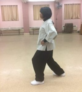 Tai Chi forward stance