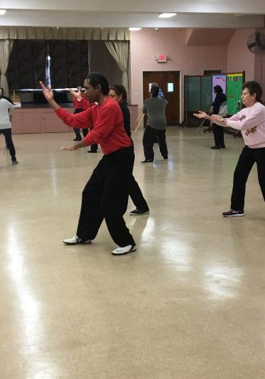 Forever Tai Chi class