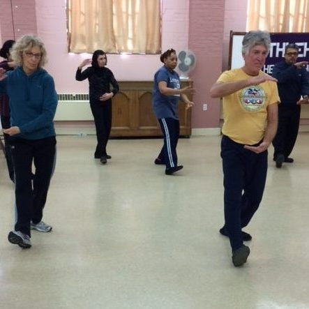 Tai Chi Class-Part the Wild Horses Mane