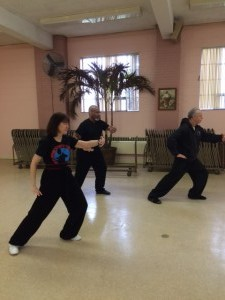 advanced Tai Chi class
